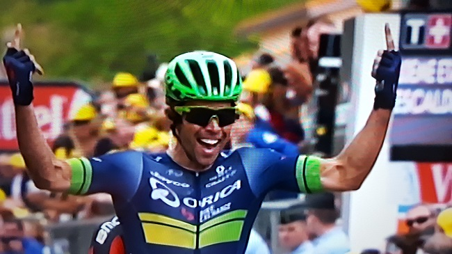 who won tour de france stage today
