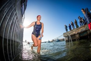 Take part in one of two triathlon events on the day. Photo: Supplied