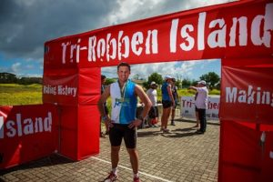The TriRock Robben Island is one of the most beautiful and historic triathlons in SA. Photo: Supplied