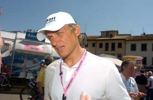 Oleg Tinkov at the race village. Photo: Fotoreporter Sirotti