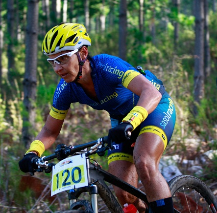 SasolRacing's Yolande de Villiers will line up for the three-day PwC Great Zuurberg Trek as part of her final preparations for the national mountain bike marathon championships. The race starts at Addo near Port Elizabeth on Friday. Photo: Oakpics