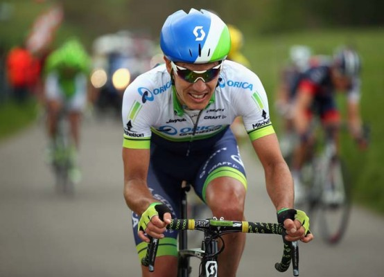 Daryl Impey of South Africa and Orica GreenEDGE in action during the 49th edition of the Amstel Gold Race on April 20. Photo: Bryn Lennon / Velo / Getty Images