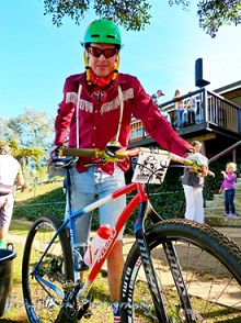 Nic White, 2013 South African Singlespeed Mountain Bike Champion. Photo: Front Row Photography