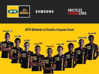 Team MTN-Qhubeka. Photo: Supplied