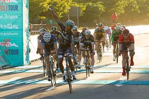 Nolan Hoffman wins the 2015 Cape Town Cycle Tour. Photo: