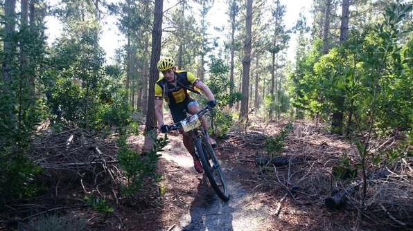 Adriaan Kief won the second leg of the Trailseeker Series at the Grabouw Country Club in the Western Cape today. Photo: Supplied