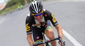 Team MTN-Qhubeka's Serge Pauwels finished in ninth position in the 17th stage of the 2015 Tour de France. Photo: Gruber Images