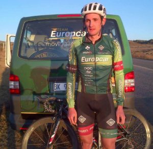 Willie Smit of Team Europcar SA won stage one of the 2015 Jock Cycle Tour on Friday.