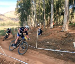 James Reid won the South African National MTB championships cross country event today. Photo: Supplied