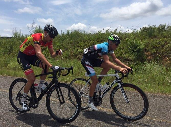 Contestants in action at the final stage of the Mpumalanga Cycle Tour. Photo: twitter.com/RoadCoverCT