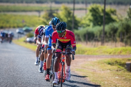 Cape Town Cycle Tour champ Clint Hendricks (Team RoadCover) has been reduced to the role of domestique in Sunday's Emperors Palace Classic cycle classic. Photo: Warren Elsom/Capcha