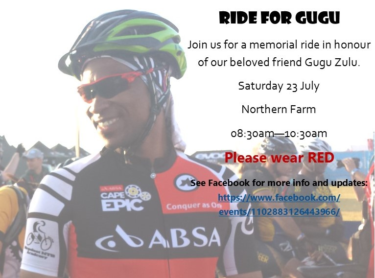 Ride for Gugu