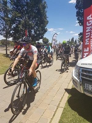 The Munga kicked off today in Bloemfontein. Photo: Facebook/@TheMungaMTB