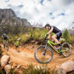Matt Beers during the Cape Epic mountain bike event