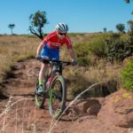 Amy McDougall in action at the Bezhoek Extreme MTB Festival