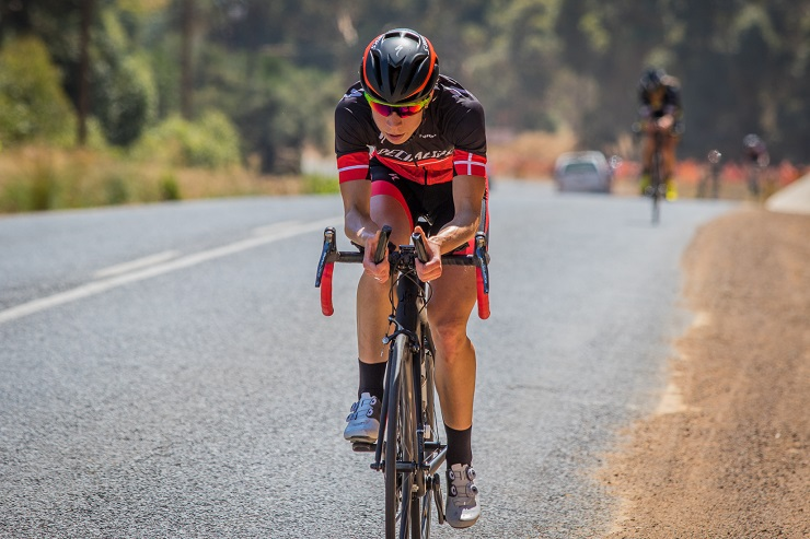 Annika Langvad in action during stage two of the 2016 Tour of Good Hope.