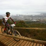 Bonga Ngqobane cycling