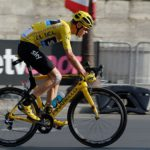 Chris Froome in action during the 2016 Tour de France.