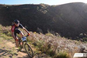 Drakensberg scenery at the National MTBB Series