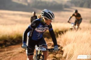 Amy Beth McDougall at the National MTB Series