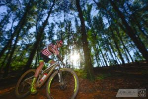 Matthys Beukes in round four of the National MTB Series