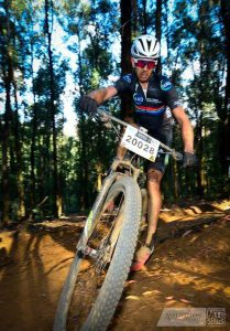 Nico Bell at the National MTB Series