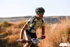Nathan Treble at the fourth round of the National MTB Series