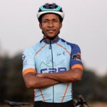 Phillimon Sebona has worked his way up cycling's corporate latter to become a professional mountain biker.