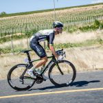 Reinardt Janse van Rensburg took part in the Tour of California.