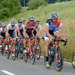 The peloton during Tour de Suisse.