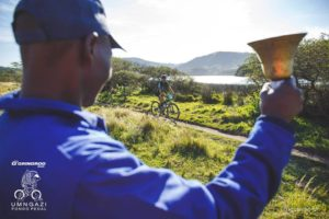 Support along the route of the Umngazi Pondo Pedal