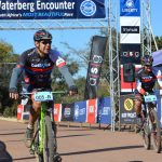 The Bestmed Masters duo of Rory Mapstone (left) and Rex Benson at Waterberg Encounter
