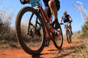Participants in action at the Waterberg MTB Encounter