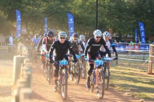 The start of the Waterberg MTB Encounter
