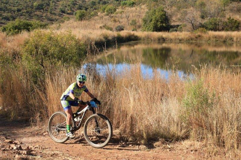 A rider in action at the Waterberg MTB Encounter