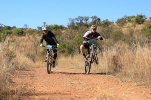 A happy team at the Waterberg MTB Encounter