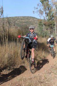 Feeling good on the final day of the Waterberg MTB Encounter