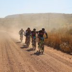A bunch in action during the Waterberg MTB Encounter