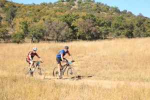 A team in action at the Waterberg MTB Encounter