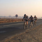 The Free State Dash riders started their journey from Thaba Trails, just outside Johannesburg, early this morning.