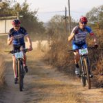 Mountain bikers during day one of Innibos Stage Race.