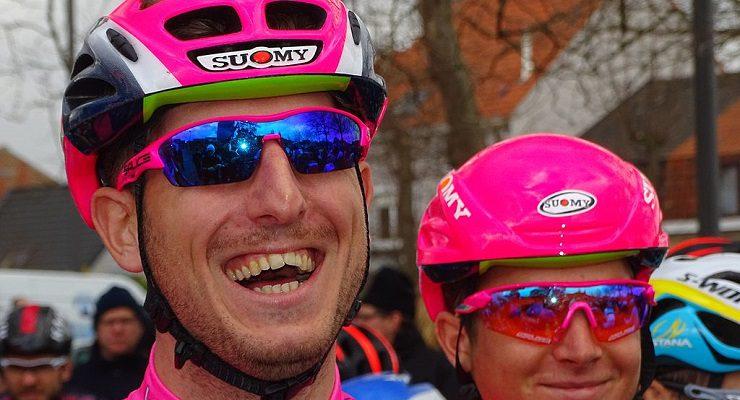 Team Emirates' Sacha Modolo won stage two of Tour of Pologna today.