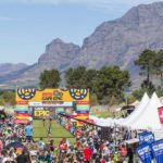 The final stage of the Cape Epic finished at Val de Vie Estate