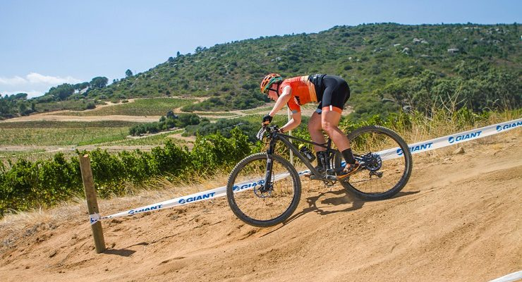 Frances du Toit on the trails