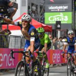 Italian rider Matteo Trentin victorious