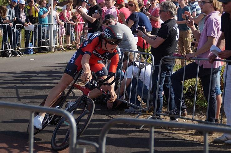 BMC's Stefan Küng at the 2016 Giro d'Italia
