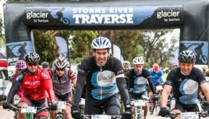 The start of stage one of the Storms River Traverse.