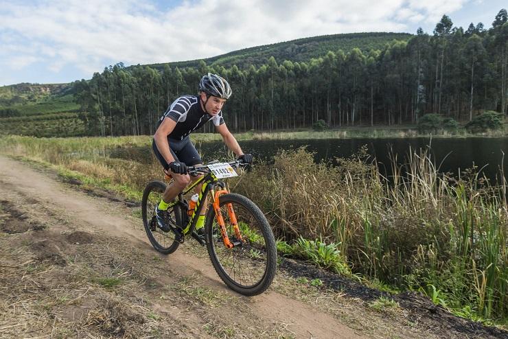 Stuart Marais in action
