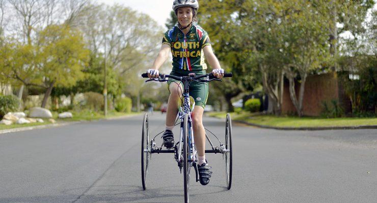 National para-cyclist Toni Mould