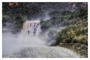 The Trans Baviaans riders started the 230km journey from Willowmore in the Karoo this morning.
